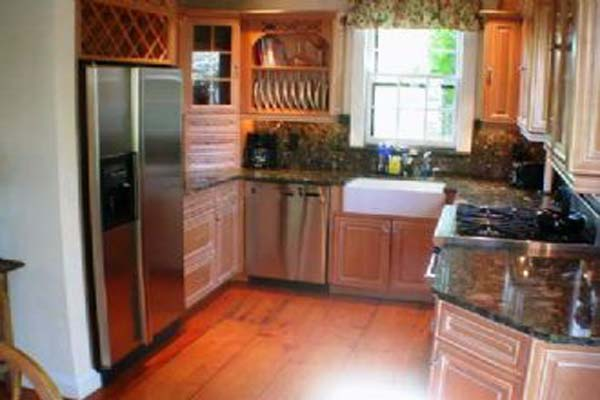 Kitchen at Villa NAN JEF (JEF) at Nantucket, Town, Family-Friendly Villa, 2 Bedrooms, 2 Bathrooms, WiFi, WIMCO Villas