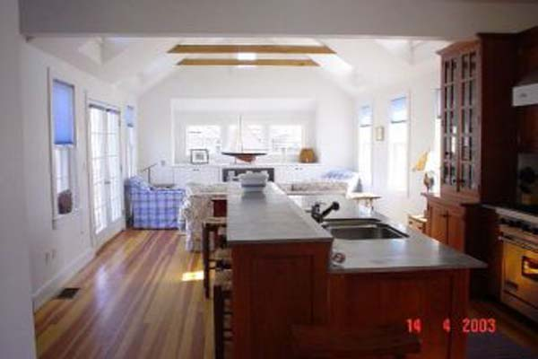 Kitchen at Villa NAN NEW (NEW) at Nantucket, Town, Family-Friendly Villa, 3 Bedrooms, 4 Bathrooms, WiFi, WIMCO Villas