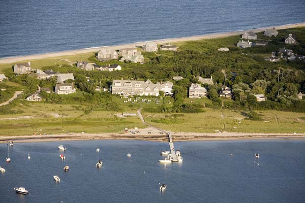 WIMCO Villas, The Wauwinet, Nantucket, Aerial, Book now with WIMCO Villas