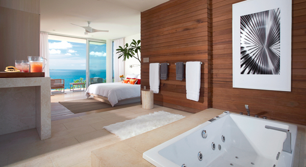Bathroom at Villa ANI NOR (Ani Villas - North) at Anguilla, Little Bay, Family-Friendly Villa, Pool, 4 Bedrooms, 4 Bathrooms, WiFi, WIMCO Villas