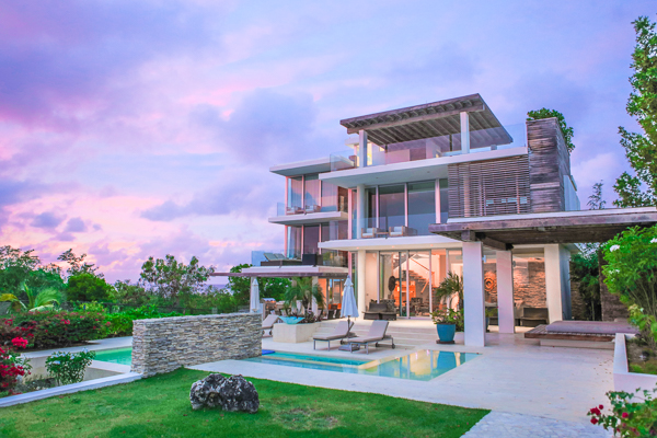 Exterior of Villa ANI NOR (Ani Villas - North) at Anguilla, Little Bay, Family-Friendly Villa, Pool, 4 Bedrooms, 4 Bathrooms, WiFi, WIMCO Villas