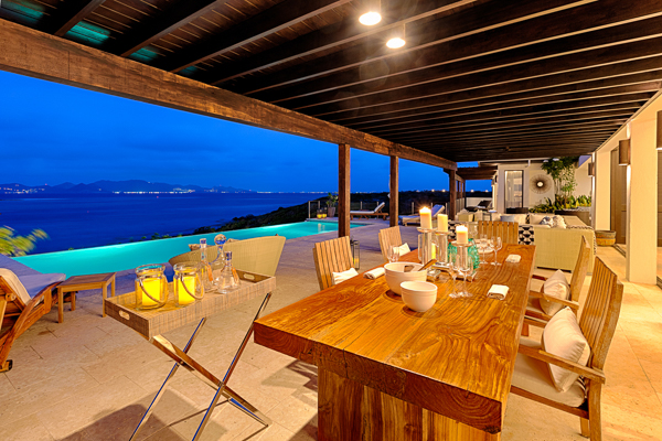 Dining Room at Villa AXA KAM1 (Triton at Kamique) at Anguilla, Little Harbour, Family-Friendly Villa, Pool, 6 Bedrooms, 6 Bathrooms, WiFi, WIMCO Villas