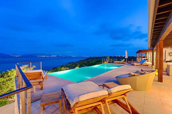 The view from Villa AXA KAM1 (Triton at Kamique) at Anguilla, Little Harbour, Family-Friendly Villa, Pool, 6 Bedrooms, 6 Bathrooms, WiFi, WIMCO Villas