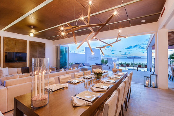 Dining Room at Villa AXA KISE (Kishti East on Meads) at Anguilla, Meads Bay, Family-Friendly Villa, Pool, 6 Bedrooms, 6 Bathrooms, WiFi, WIMCO Villas