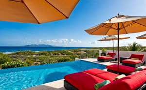 Villa Pool at Villa AXA TEQ (Tequila Sunrise) at Sandy Hill, Anguilla, Family-Friendly, Pool, 3 Bedroom, 3 Bathroom, WiFi, WIMCO Villas, Available for the Holidays