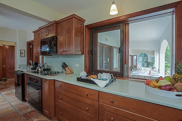 Kitchen at Villa IDP LEM (L'Embellie) at Anguilla, Forest Bay, Family-Friendly Villa, Pool, 3 Bedrooms, 3 Bathrooms, WiFi, WIMCO Villas