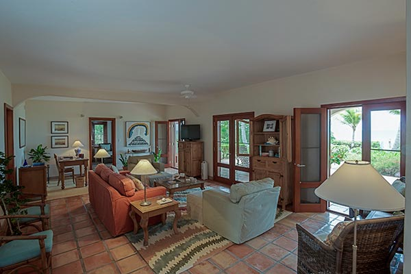 Living Room at Villa IDP LEM (L'Embellie) at Anguilla, Forest Bay, Family-Friendly Villa, Pool, 3 Bedrooms, 3 Bathrooms, WiFi, WIMCO Villas
