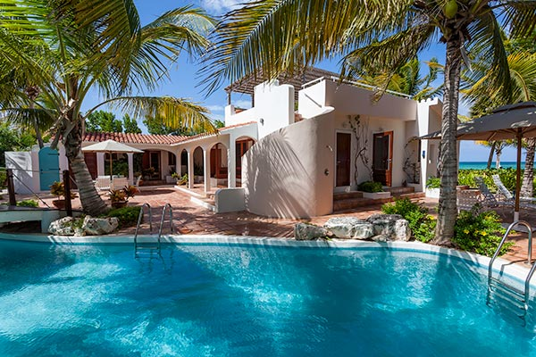 Villa Pool at Villa IDP LEM (L'Embellie) at Anguilla, Forest Bay, Family-Friendly Villa, Pool, 3 Bedrooms, 3 Bathrooms, WiFi, WIMCO Villas