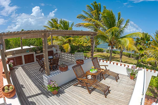 Terrace at Villa IDP LEM (L'Embellie) at Anguilla, Forest Bay, Family-Friendly Villa, Pool, 3 Bedrooms, 3 Bathrooms, WiFi, WIMCO Villas