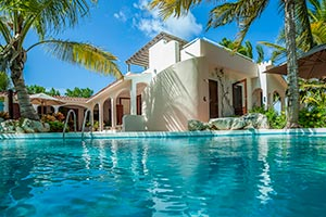 Villa Pool at Villa IDP LEM (L'Embellie) at Forest Bay, Anguilla, Family-Friendly, Pool, 3 Bedroom, 3 Bathroom, WiFi, WIMCO Villas, Available for the Holidays