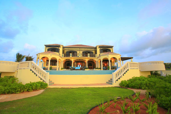Exterior of Villa RIC AMA (Villa Amarilla) at Anguilla, Shoal Bay East, Family-Friendly Villa, Pool, 5 Bedrooms, 5 Bathrooms, WiFi, WIMCO Villas