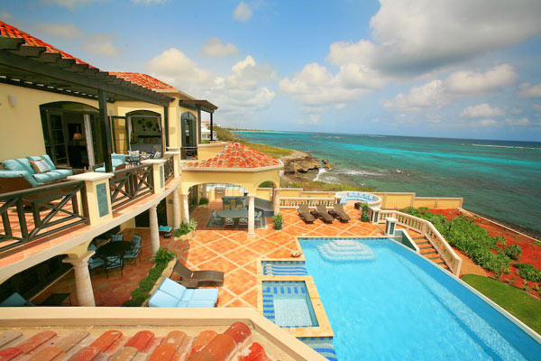 Villa Pool at Villa RIC AMA (Villa Amarilla) at Anguilla, Shoal Bay East, Family-Friendly Villa, Pool, 5 Bedrooms, 5 Bathrooms, WiFi, WIMCO Villas