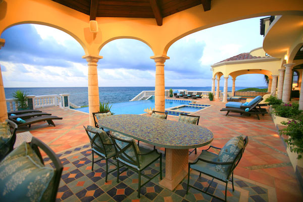 Terrace at Villa RIC AMA (Villa Amarilla) at Anguilla, Shoal Bay East, Family-Friendly Villa, Pool, 5 Bedrooms, 5 Bathrooms, WiFi, WIMCO Villas