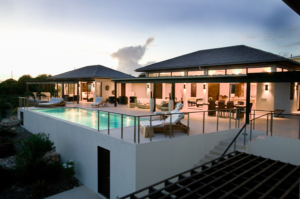 Exterior of Villa RIC KAM2 (Anani at Kamique) at Anguilla, Little Harbour, Family-Friendly Villa, Pool, 4 Bedrooms, 4 Bathrooms, WiFi, WIMCO Villas