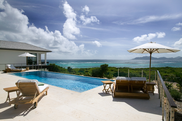 Villa Pool at Villa RIC KAM2 (Anani at Kamique) at Anguilla, Little Harbour, Family-Friendly Villa, Pool, 4 Bedrooms, 4 Bathrooms, WiFi, WIMCO Villas