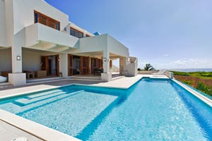 Villa Pool at Villa RIC WHI (White Cedars) at Sandy Hill, Anguilla, Family-Friendly, Pool, 3 Bedroom, 3 Bathroom, WiFi, WIMCO Villas, Available for the Holidays