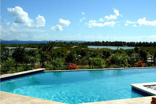 The view from Villa SHE HAR (Harmony) at Anguilla, Maundays Bay, Family-Friendly Villa, Pool, 8 Bedrooms, 8 Bathrooms, WiFi, WIMCO Villas
