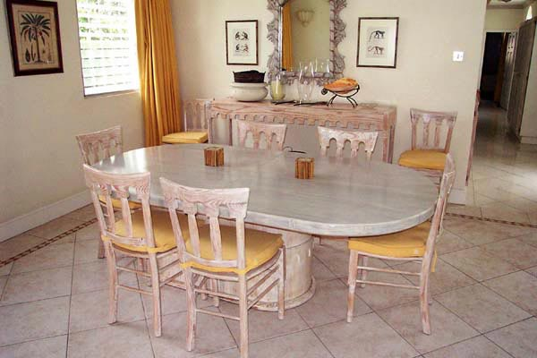 Dining Room at Villa AA SE1 (Secret Cove #1) at Barbados, Fitts Village - St. James, Family-Friendly Villa, 2 Bedrooms, 2 Bathrooms, WiFi, WIMCO Villas
