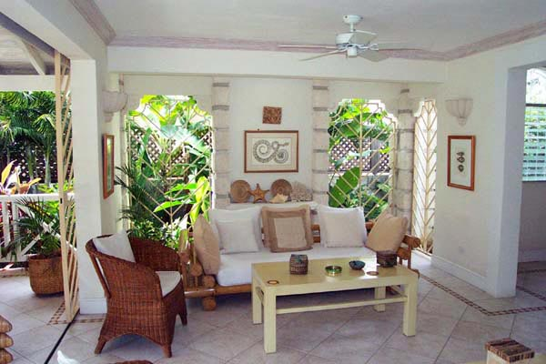 Living Room at Villa AA SE1 (Secret Cove #1) at Barbados, Fitts Village - St. James, Family-Friendly Villa, 2 Bedrooms, 2 Bathrooms, WiFi, WIMCO Villas
