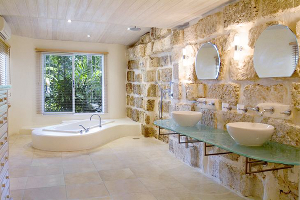 Bathroom at Villa AA LDM (Landmark House & Cottage - Sandy Lane) at Barbados, Sandy Lane Beach - St. James, Family-Friendly Villa, 6 Bedrooms, 6 Bathrooms, WiFi, WIMCO Villas