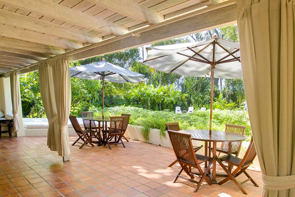 Terrace at Villa AA LDM (Landmark House & Cottage - Sandy Lane) at Barbados, Sandy Lane Beach - St. James, Family-Friendly Villa, 6 Bedrooms, 6 Bathrooms, WiFi, WIMCO Villas