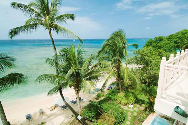 The view from Villa AA R13 (Reeds House Penthouse #13) at Barbados, Reeds Bay - St. James, 2 Bedrooms, 2 Bathrooms, WiFi, WIMCO Villas