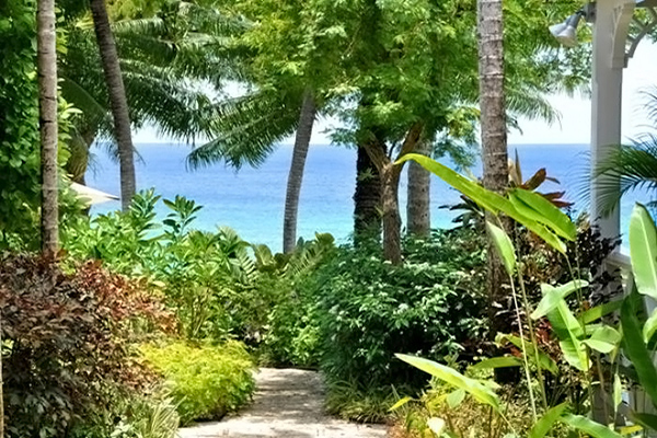 The view from Villa AA SE3 (Secret Cove #3 & #4) at Barbados, Fitts Village - St. James, Family-Friendly Villa, 2 Bedrooms, 2 Bathrooms, WiFi, WIMCO Villas