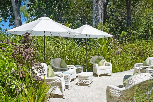 Patio at Villa AA STH (St. Helena) at Barbados, Queens Fort, Family-Friendly Villa, Pool, 8 Bedrooms, 8 Bathrooms, WiFi, WIMCO Villas