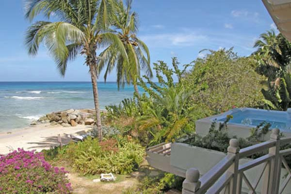The view from Villa BS RE0 (Reeds House No. 10) at Barbados, Reeds Bay - St. James, Family-Friendly Villa, Pool, 2 Bedrooms, 2 Bathrooms, WiFi, WIMCO Villas