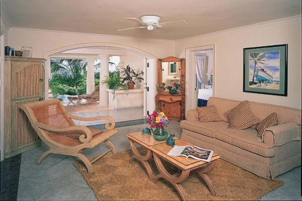 Living Room at Villa BS RE5 (Surf''s Up - Reeds House No. 5) at Barbados, Reeds Bay - St. James, Pool, 2 Bedrooms, 2 Bathrooms, WiFi, WIMCO Villas