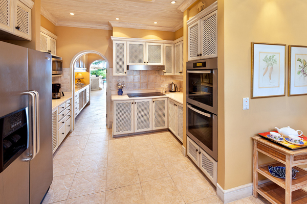 Kitchen at Villa BS BON (Bonavista) at Barbados, Gibbs Beach, Family-Friendly Villa, Pool, 4 Bedrooms, 4 Bathrooms, WiFi, WIMCO Villas