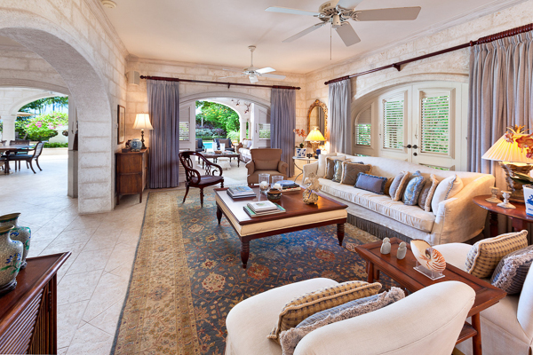 Living Room at Villa BS BON (Bonavista) at Barbados, Gibbs Beach, Family-Friendly Villa, Pool, 4 Bedrooms, 4 Bathrooms, WiFi, WIMCO Villas