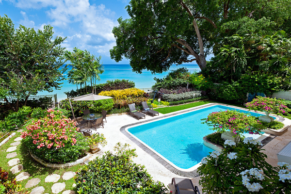 Villa Pool at Villa BS BON (Bonavista) at Barbados, Gibbs Beach, Family-Friendly Villa, Pool, 4 Bedrooms, 4 Bathrooms, WiFi, WIMCO Villas