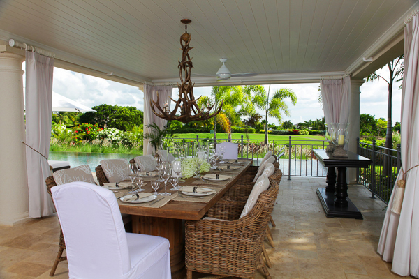 Dining Room at Villa BS LEL (Lelant at Royal Westmoreland) at Barbados, Westmoreland - St. James, Family-Friendly Villa, Pool, 5 Bedrooms, 6 Bathrooms, WiFi, WIMCO Villas