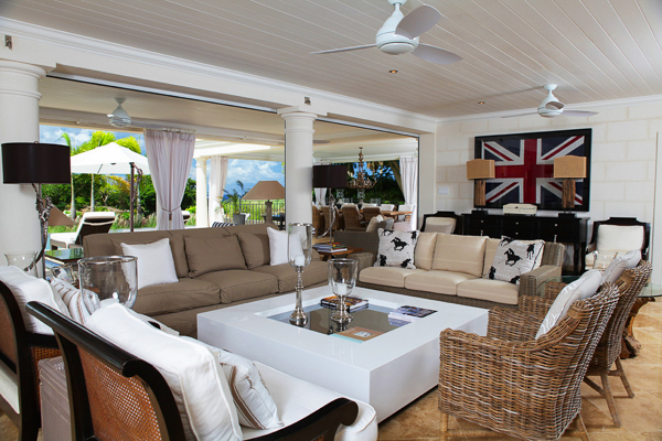 Living Room at Villa BS LEL (Lelant at Royal Westmoreland) at Barbados, Westmoreland - St. James, Family-Friendly Villa, Pool, 5 Bedrooms, 6 Bathrooms, WiFi, WIMCO Villas