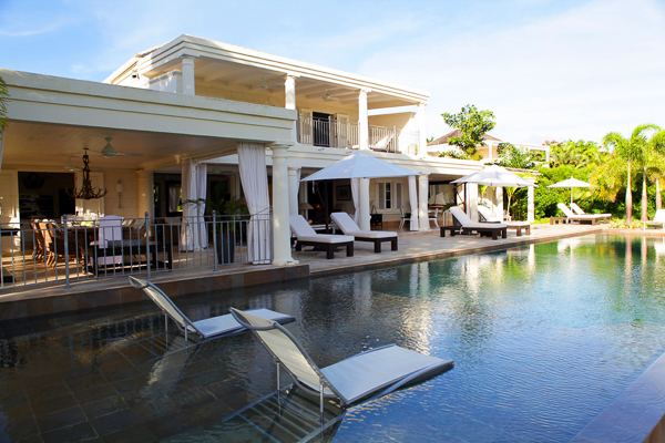 Villa Pool at Villa BS LEL (Lelant at Royal Westmoreland) at Barbados, Westmoreland - St. James, Family-Friendly Villa, Pool, 5 Bedrooms, 6 Bathrooms, WiFi, WIMCO Villas
