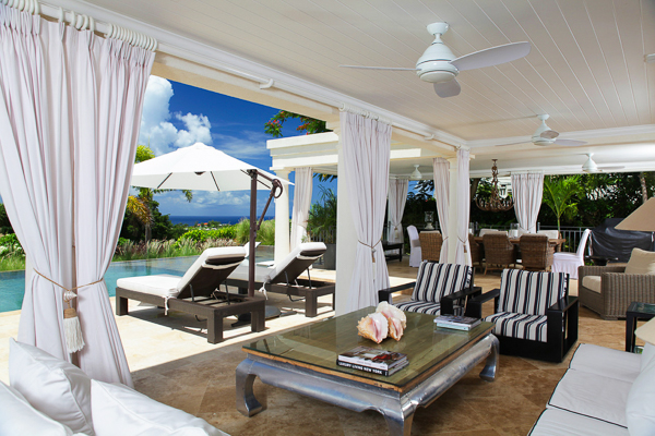 Terrace at Villa BS LEL (Lelant at Royal Westmoreland) at Barbados, Westmoreland - St. James, Family-Friendly Villa, Pool, 5 Bedrooms, 6 Bathrooms, WiFi, WIMCO Villas