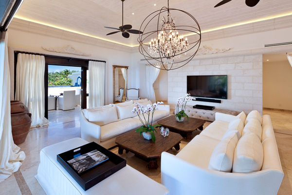 Living Room at Villa BS LGR (Langara) at Barbados, Derricks - St. James, Family-Friendly Villa, Pool, 4 Bedrooms, 4 Bathrooms, WiFi, WIMCO Villas