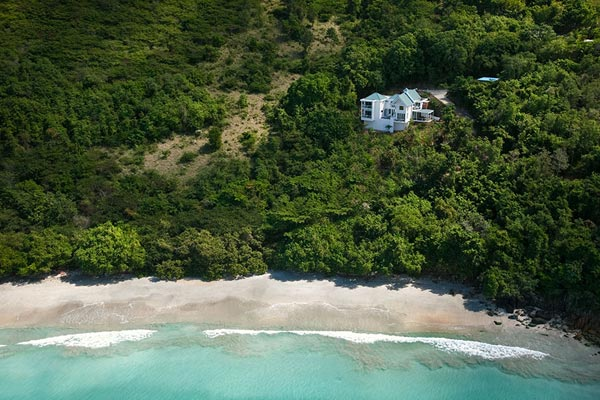 Beach at Villa MAT REF (The Refuge) at Tortola, NW/Green Bank, Family-Friendly Villa, Pool, 3 Bedrooms, 4 Bathrooms, WiFi, WIMCO Villas