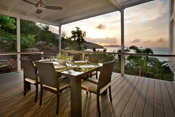 Dining Room at Villa MAT REF (The Refuge) at Tortola, NW/Green Bank, Family-Friendly Villa, Pool, 3 Bedrooms, 4 Bathrooms, WiFi, WIMCO Villas