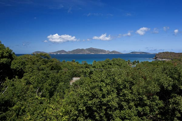 The view from Villa MAT SAD (Sade) at Tortola, West End/Belmont, Family-Friendly Villa, Pool, 5 Bedrooms, 5 Bathrooms, WiFi, WIMCO Villas