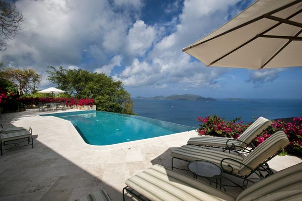 Villa Pool at Villa MAT STB (St. Bernard's Hill House) at Tortola, West End/Belmont, Family-Friendly Villa, Pool, 5 Bedrooms, 6 Bathrooms, WiFi, WIMCO Villas