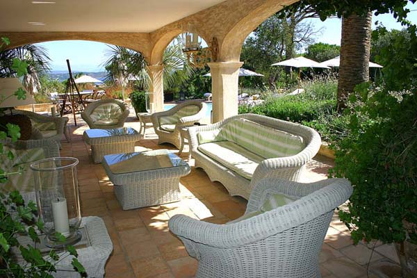 Terrace at Villa ACV GLA (Glamour) at France, St. Tropez & The Var, Family-Friendly Villa, Pool, 8 Bedrooms, 8 Bathrooms, WiFi, WIMCO Villas
