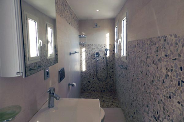 Bathroom at Villa YNF BAI (La Baie) at France, Cote D Azur - Nice to Monaco, Family-Friendly Villa, 5 Bedrooms, 4 Bathrooms, WiFi, WIMCO Villas