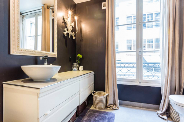 Bathroom at Villa YNF FAU (L'appart Faubourg St-Honore) at France, Paris, Family-Friendly Villa, 2 Bedrooms, 2 Bathrooms, WiFi, WIMCO Villas