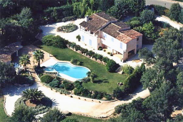 Aerial photo of Villa YNF GRI (Grimaud) at France, St. Tropez & The Var, Family-Friendly Villa, Pool, 5 Bedrooms, 6 Bathrooms, WiFi, WIMCO Villas