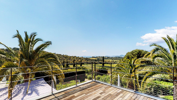 The view from Villa YNF MAR (Marilyn) at France, St. Tropez & The Var, Family-Friendly Villa, Pool, 5 Bedrooms, 6 Bathrooms, WiFi, WIMCO Villas
