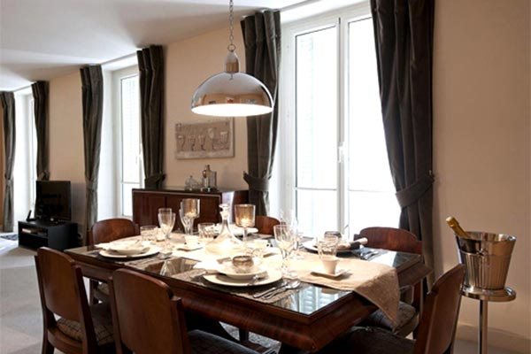 Dining Room at Villa YNF MIL (l'ecole Militaire) at France, Paris, Family-Friendly Villa, 2 Bedrooms, 2 Bathrooms, WiFi, WIMCO Villas