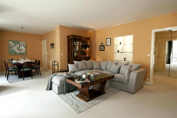 Living Room at Villa YNF MIL (l'ecole Militaire) at France, Paris, Family-Friendly Villa, 2 Bedrooms, 2 Bathrooms, WiFi, WIMCO Villas