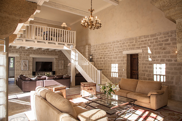 Living Room at Villa YNF TOU (Chateau de la Tour) at France, Provence - Les Alpilles Area, Family-Friendly Villa, Pool, 6 Bedrooms, 6 Bathrooms, WiFi, WIMCO Villas